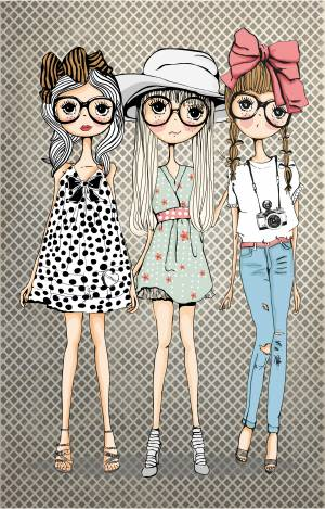 cartoon-fashion-style-girls