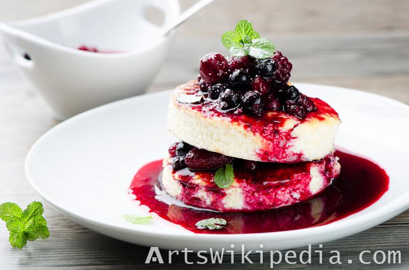 Cheese berry cake image