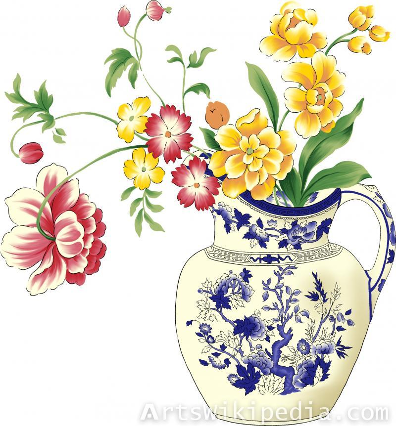 floral art clipart