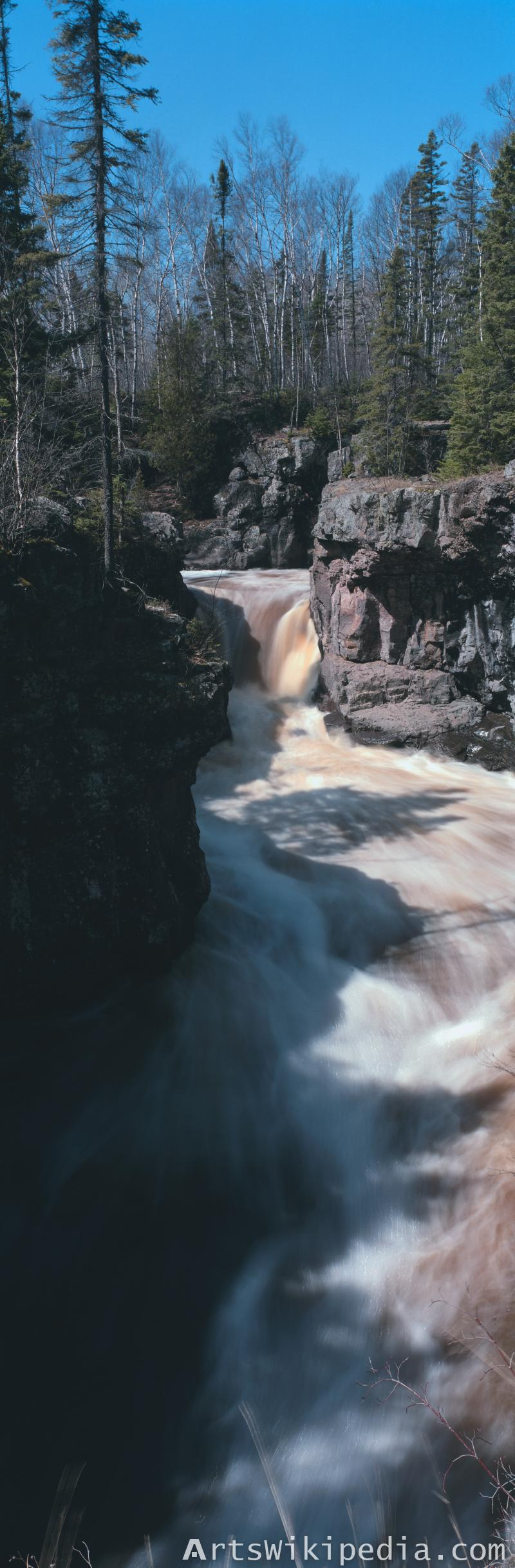 river cliff image