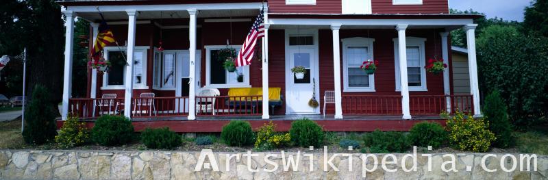 USA outside house image