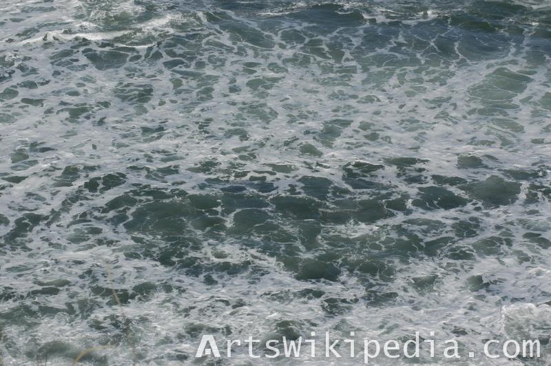 water wave reference image