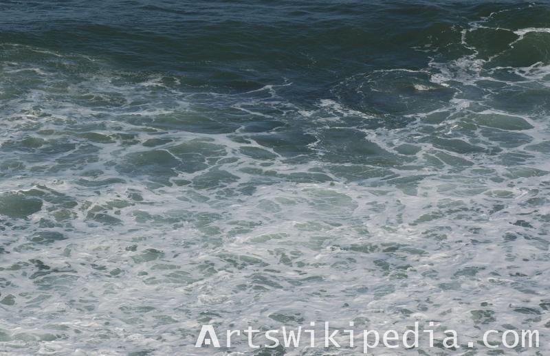 sea texture albedo map