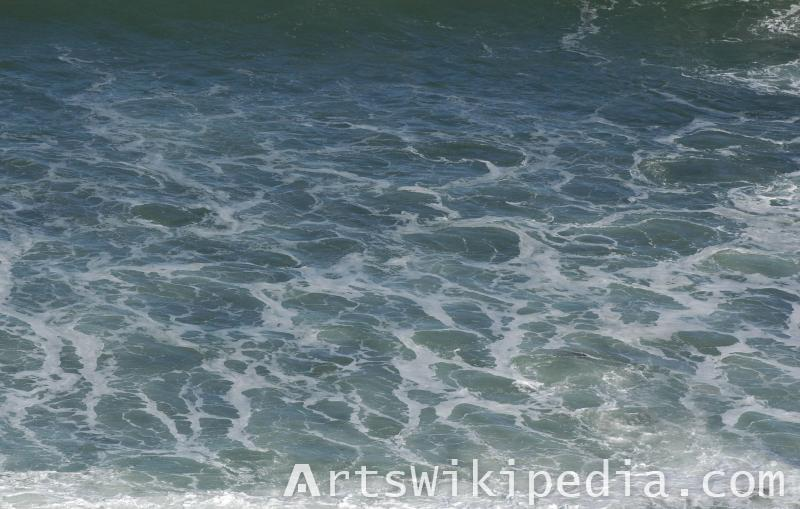 sea texture map
