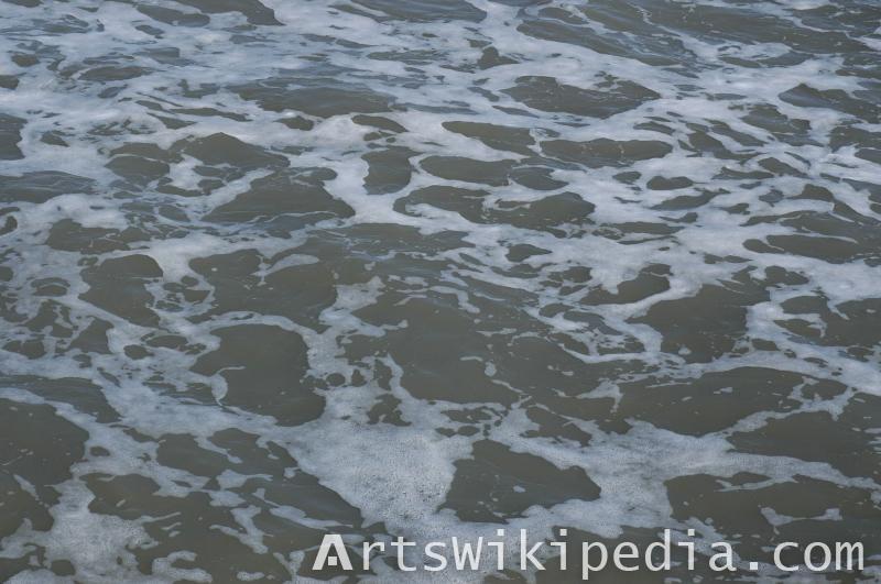 free water foam texture