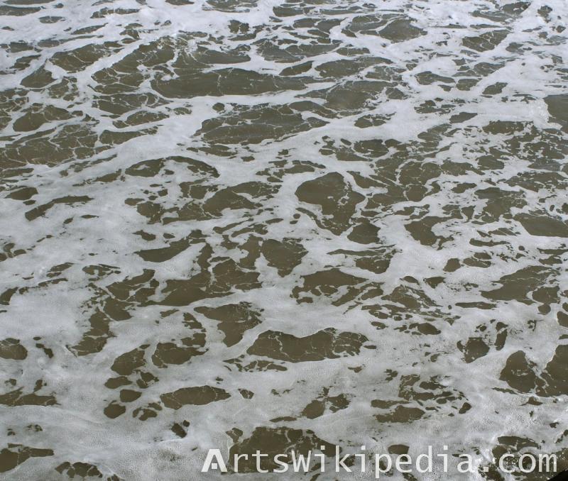 free ocean wave foam texture