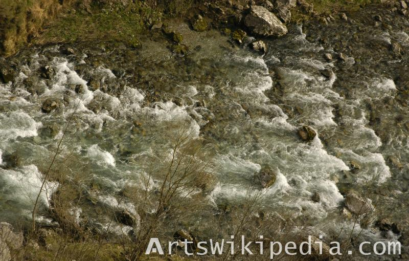 river water texture