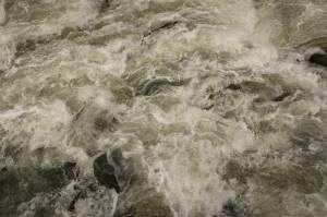 foam river water