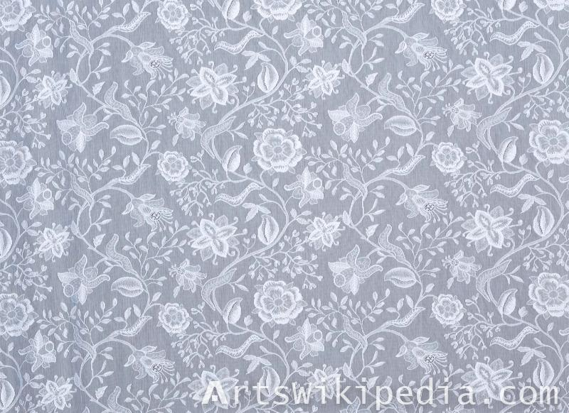 flower netted pattern texture