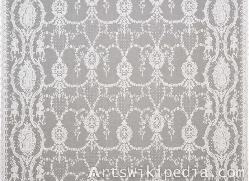 netted fabric pattern