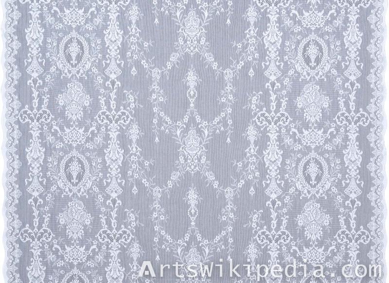 netting texture silk