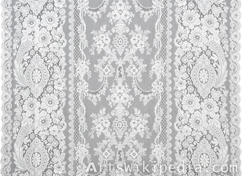 lace silk texture