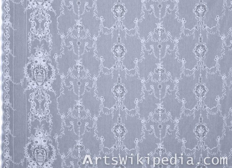 silk netted pattern