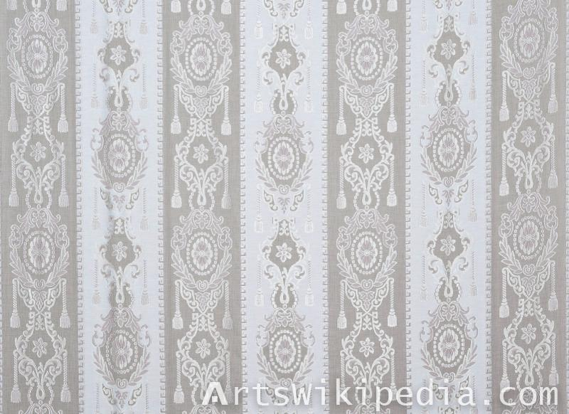netted design lace