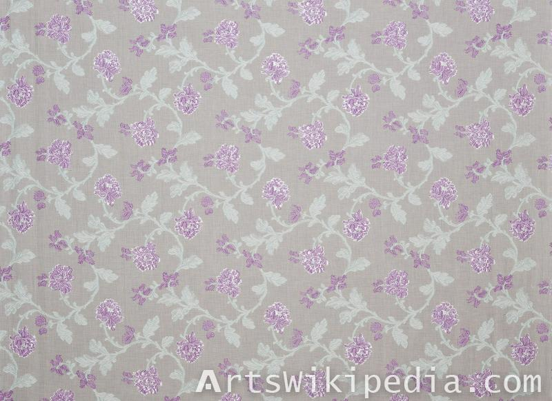 flower pattern netted cloth image
