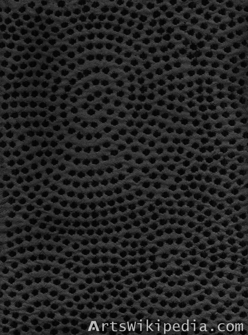 dark netted texture