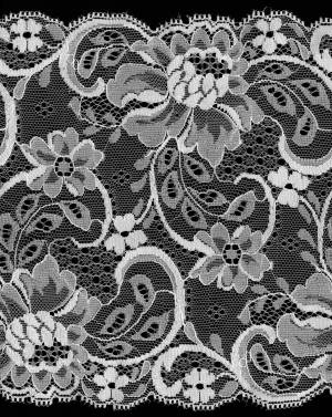 lace flower pattern cloth texture