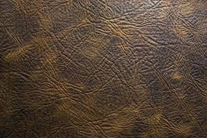 genuine brown leather texture