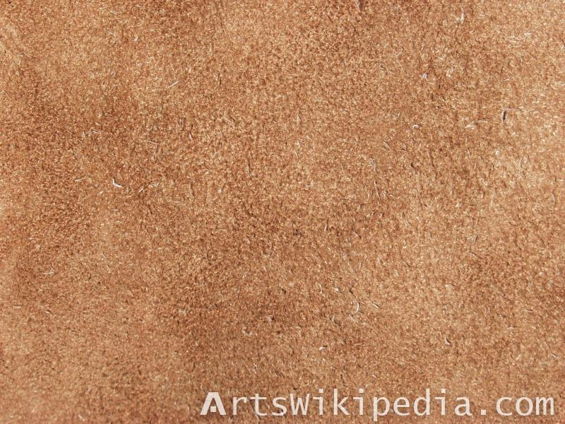 Rough leather material