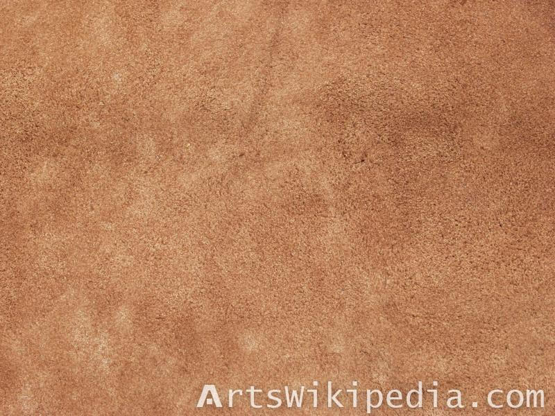 Rough leather texture map