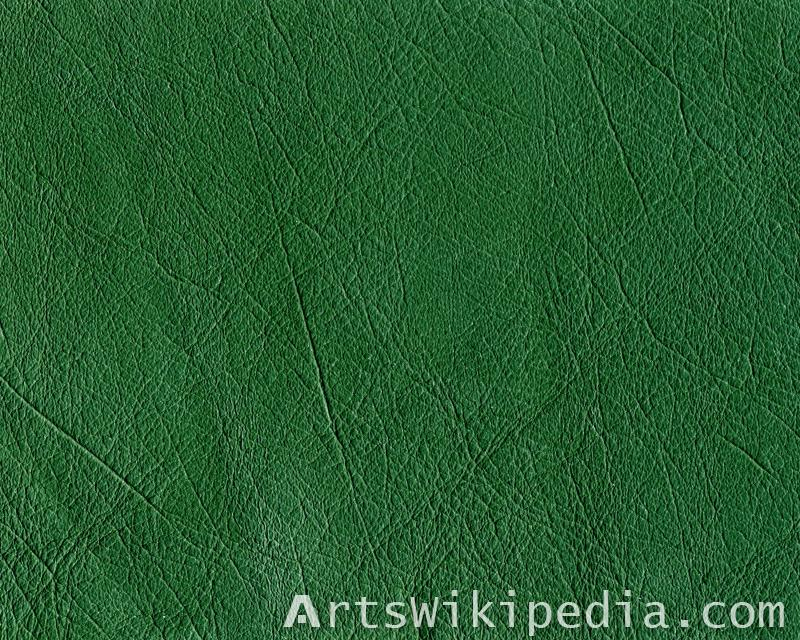 seamless green leather texture