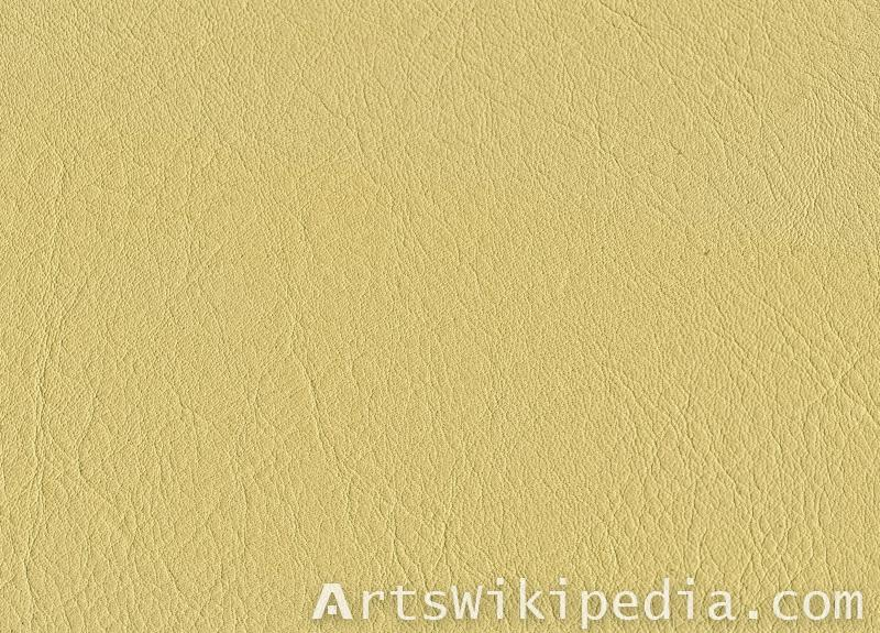 pale yellow leather texture