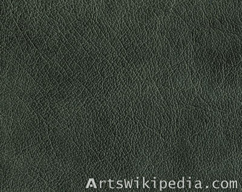 gray leather texture