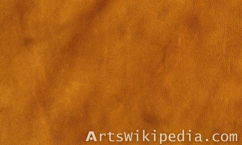 brawny leathery texture