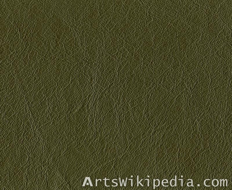 dark green leather texture