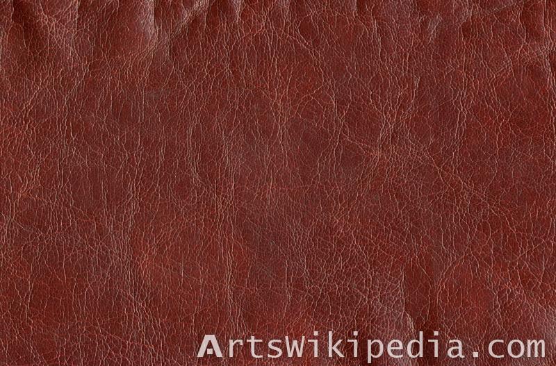 dark red leather texture