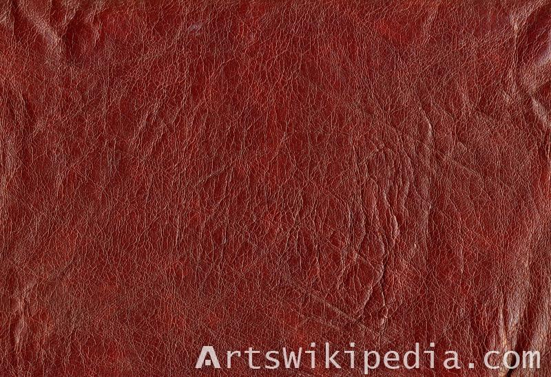 wine colored leather texture