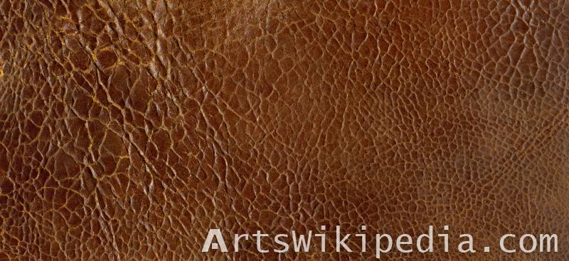 brown leather texture image