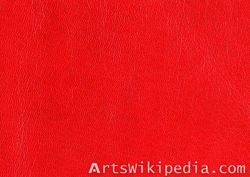 free red leather texture