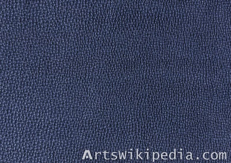 animal skin dark blue leather