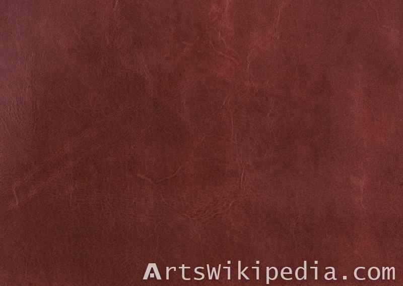 Leather texture dark brown
