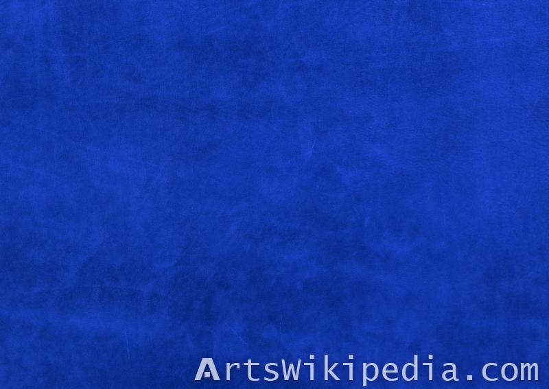 Leather blue seamless texture