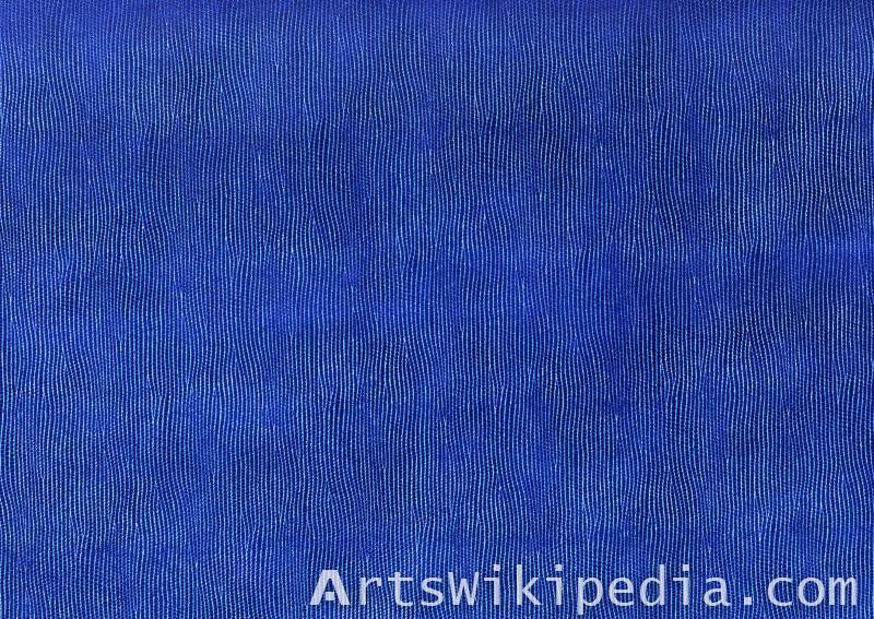 Leather sky blue texture