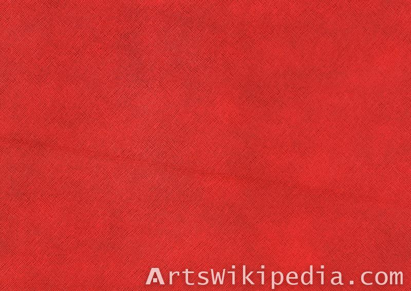 Leather red genuine texture
