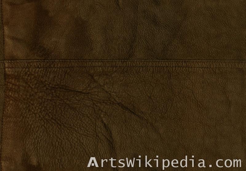 free dark brown leather texture