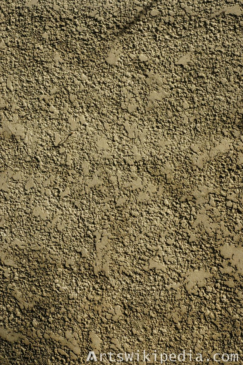 Brown rough wall material