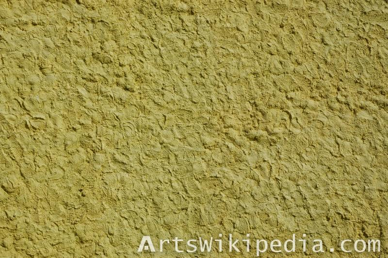 Yellow stucco texture