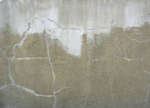 sand plaster wall
