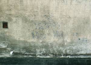 dirt concrete wall