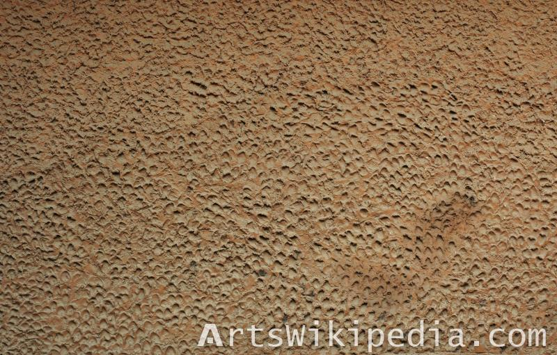 brown wall plaster texture