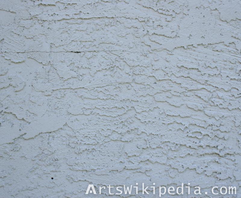 blue daub wall texture