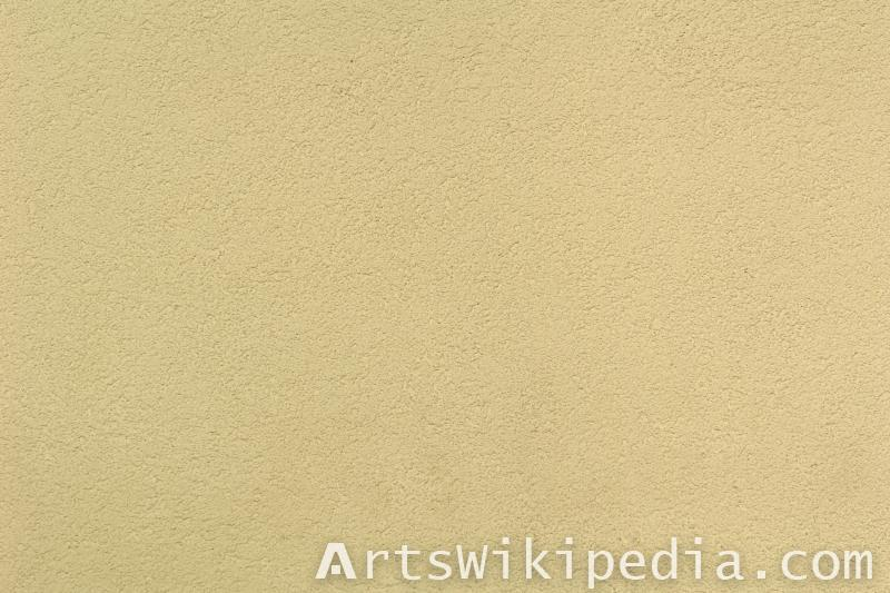 fine yellow plaster texture