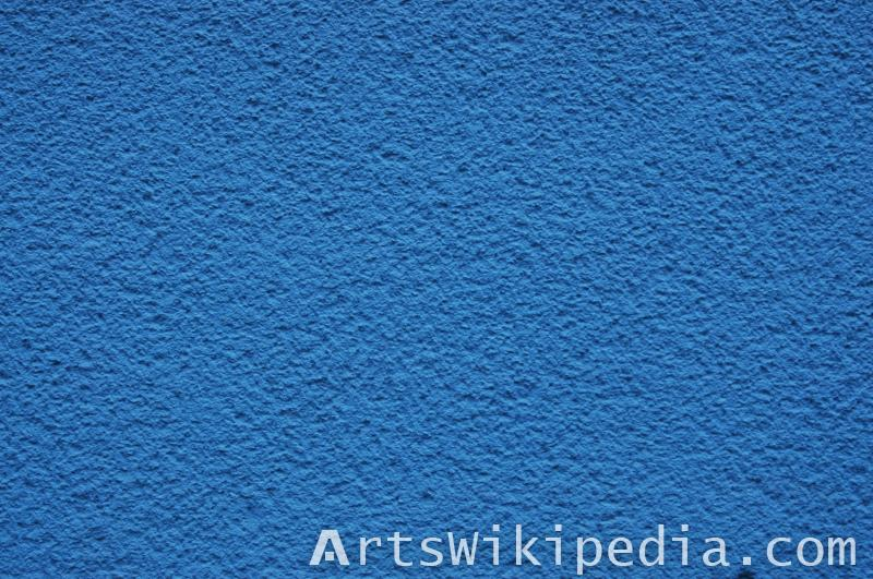 blue plaster wall texture