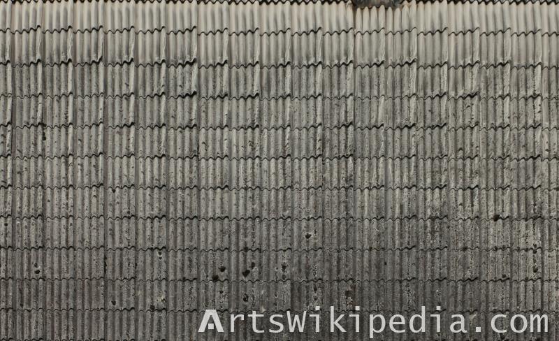 Roofing asbestos texture