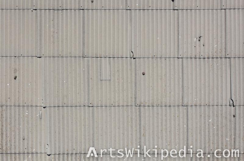 old asbestos plates texture