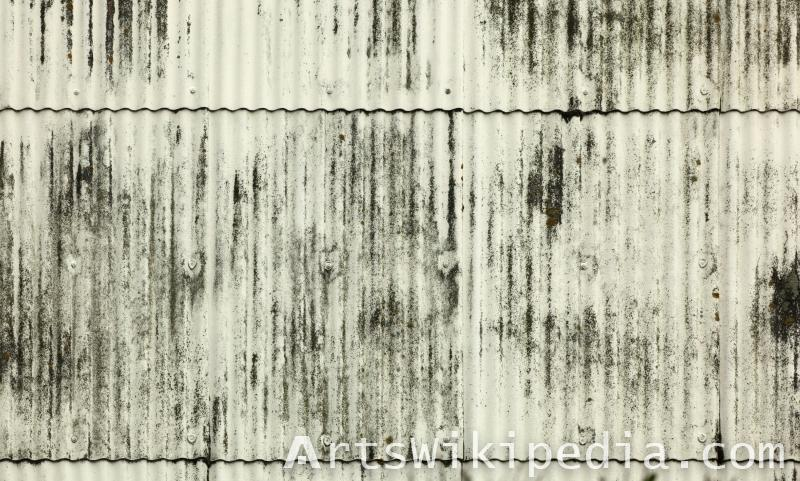 old asbest wall texture